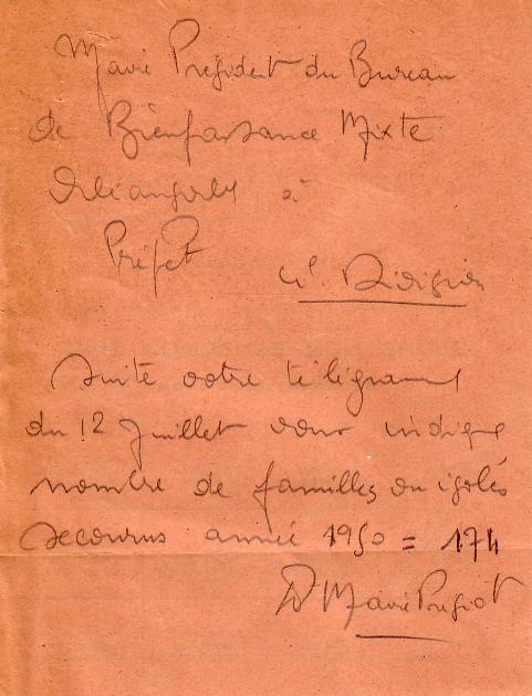 Télégramme (1950)