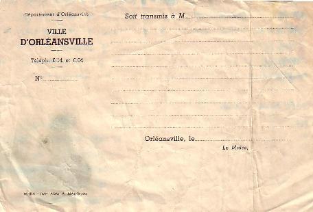 Modèle lettre administrative