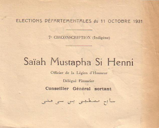 Elections départementales (1931)