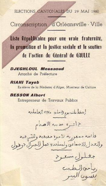 Elections cantonales (1960)