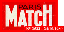 Logo Paris Match - 1980
